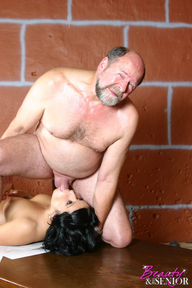 Beauty and senior porn