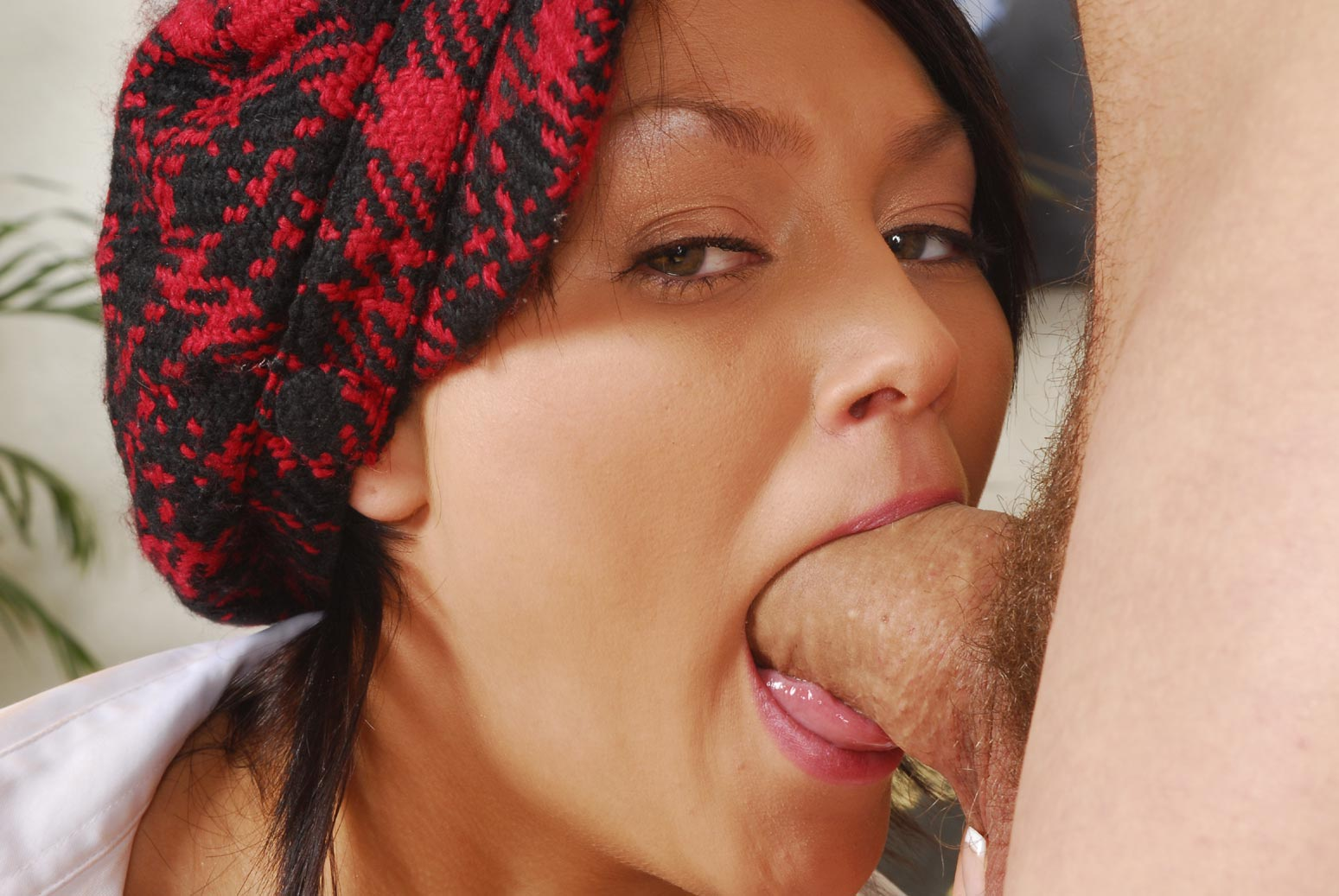 nude photos asian gal riding a big piston in the cowgirl position