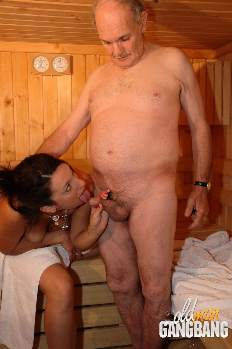 Pic of old couple fuck situation
