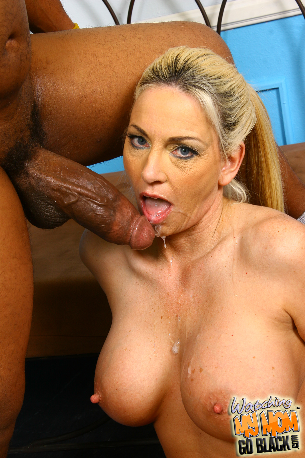 Black goes interracial milf movie older